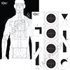 VTAC Double Sided Tactical Target- Paper (100)