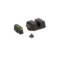 Viking Tactics Glock Sights, Fiber Front / Steel Rear