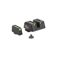 Viking Tactics Glock Sights, Fiber Front / Fiber Rear
