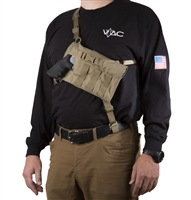 VTAC Big Rig Chest Holster (Revolver)