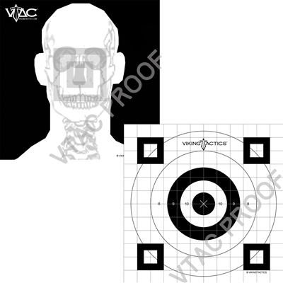 VTAC Advanced Combat Marksmanship Target (Pack of 25)