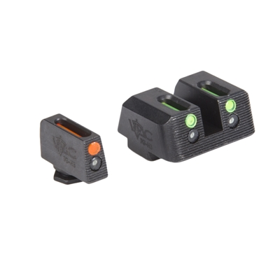 Viking Tactics Glock Sights, Fiber Front Red / Fiber Rear Green